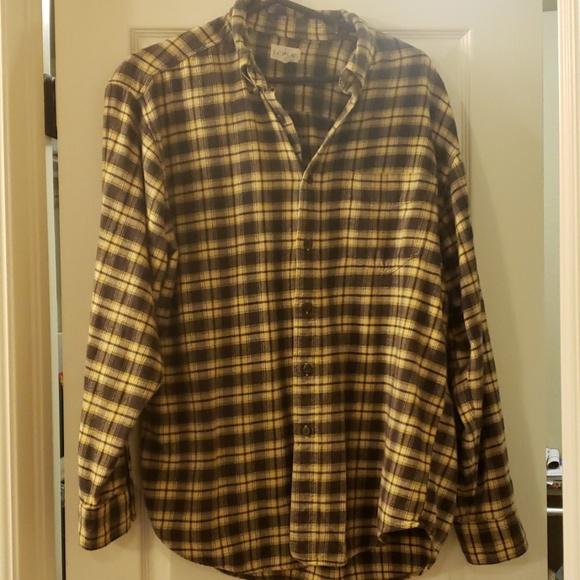 J. Crew Other - Men's J Crew flannel shirt